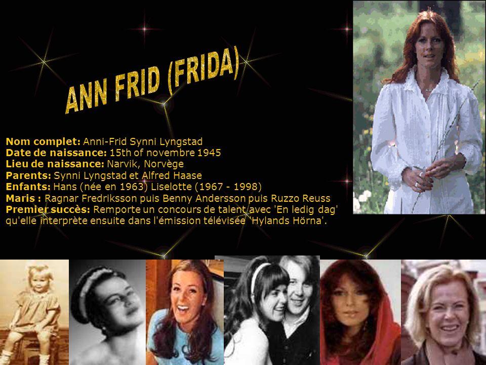 ANN FRID (FRIDA)
