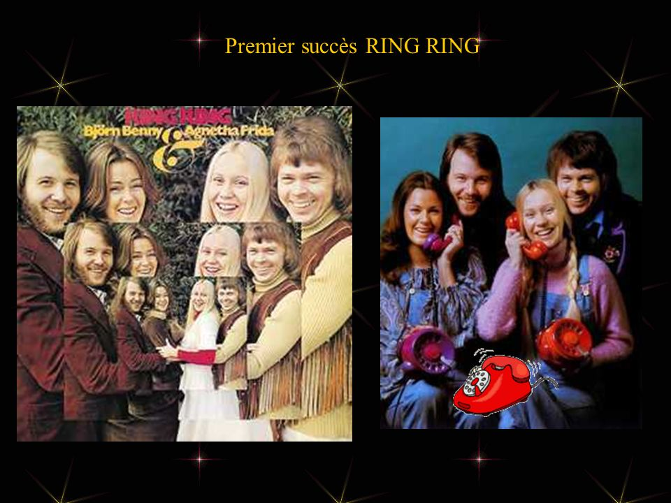 Premier succès RING RING