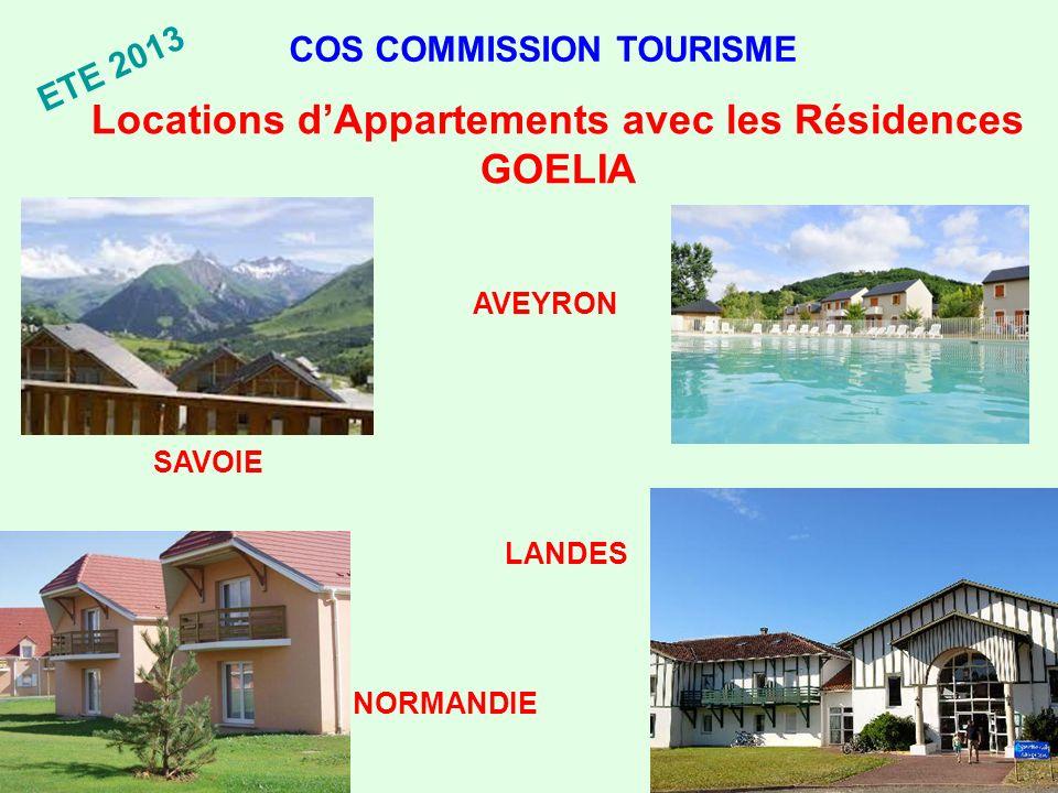 Locations d'Appartements avec les Résidences GOELIA