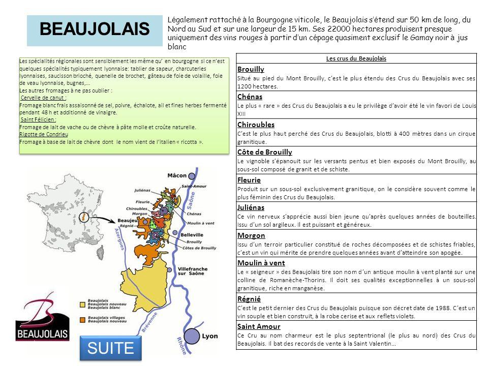 BEAUJOLAIS SUITE… Brouilly Chénas Chiroubles Côte de Brouilly Fleurie