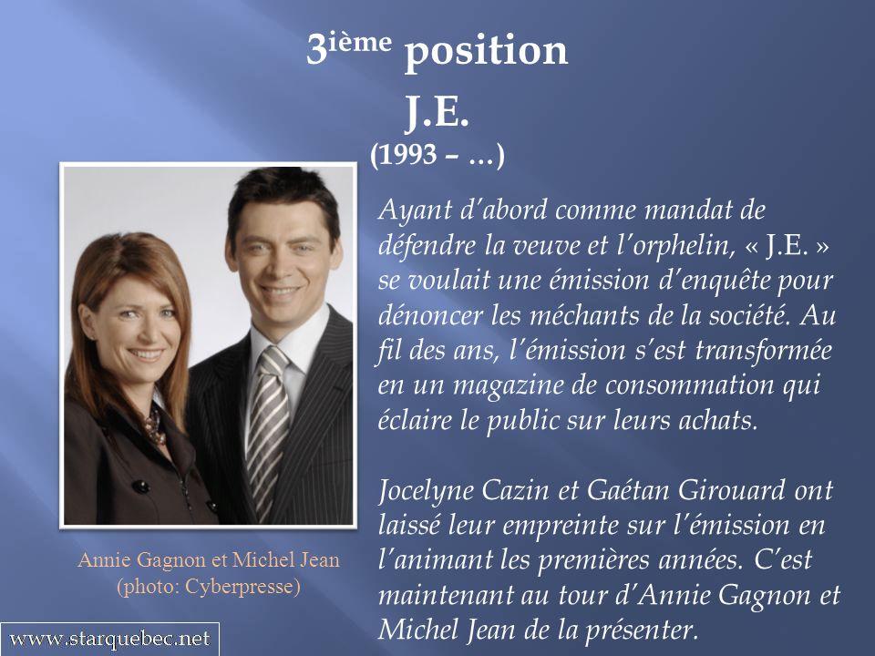 Annie Gagnon et Michel Jean