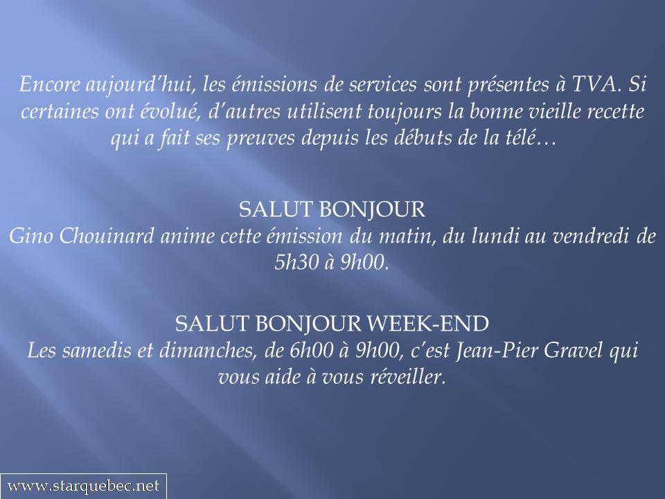 SALUT BONJOUR WEEK-END