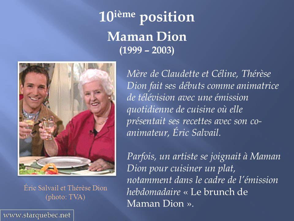 Éric Salvail et Thérèse Dion