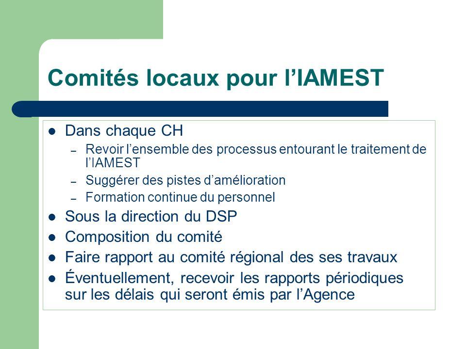 Comités locaux pour l'IAMEST