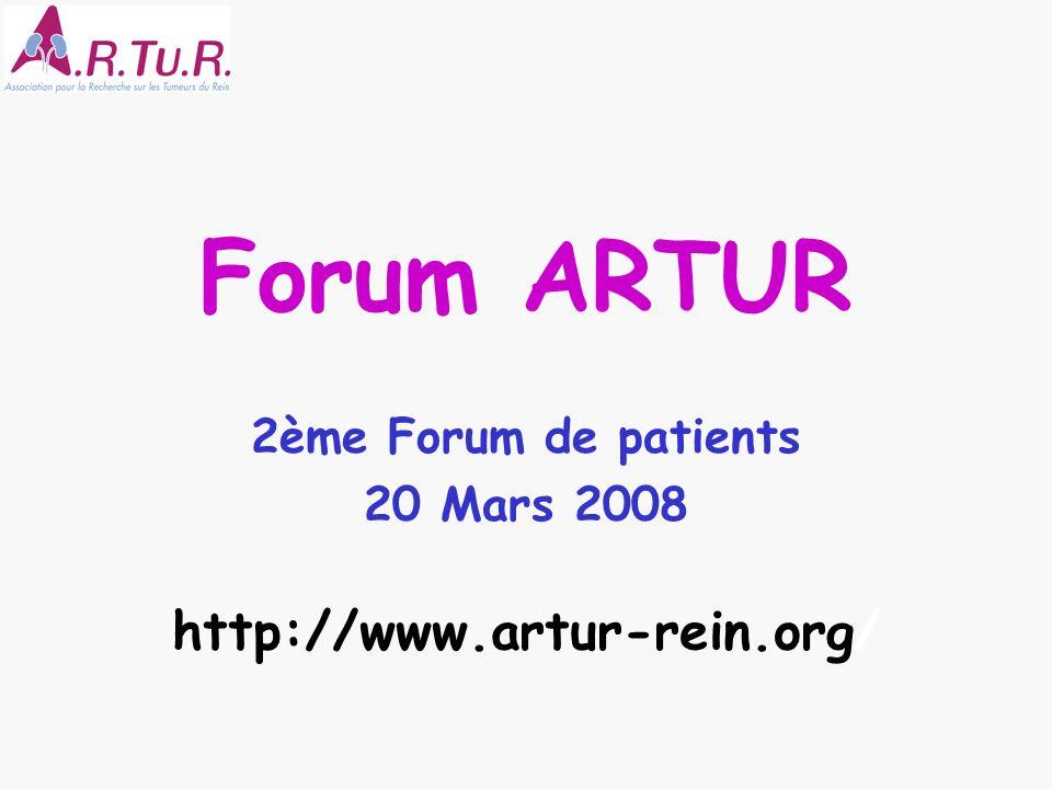 2ème Forum de patients 20 Mars 2008