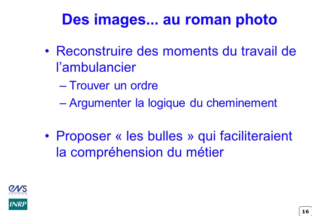 Des images... au roman photo