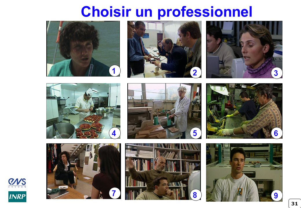 Choisir un professionnel