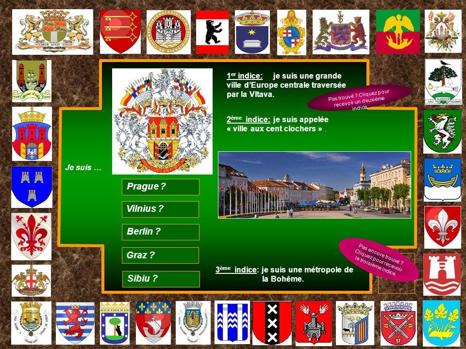 Prague Vilnius Berlin Graz Sibiu