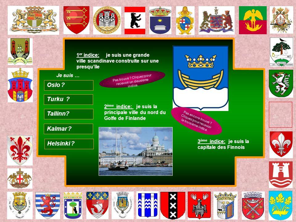 Oslo Turku Tallinn Kalmar Helsinki