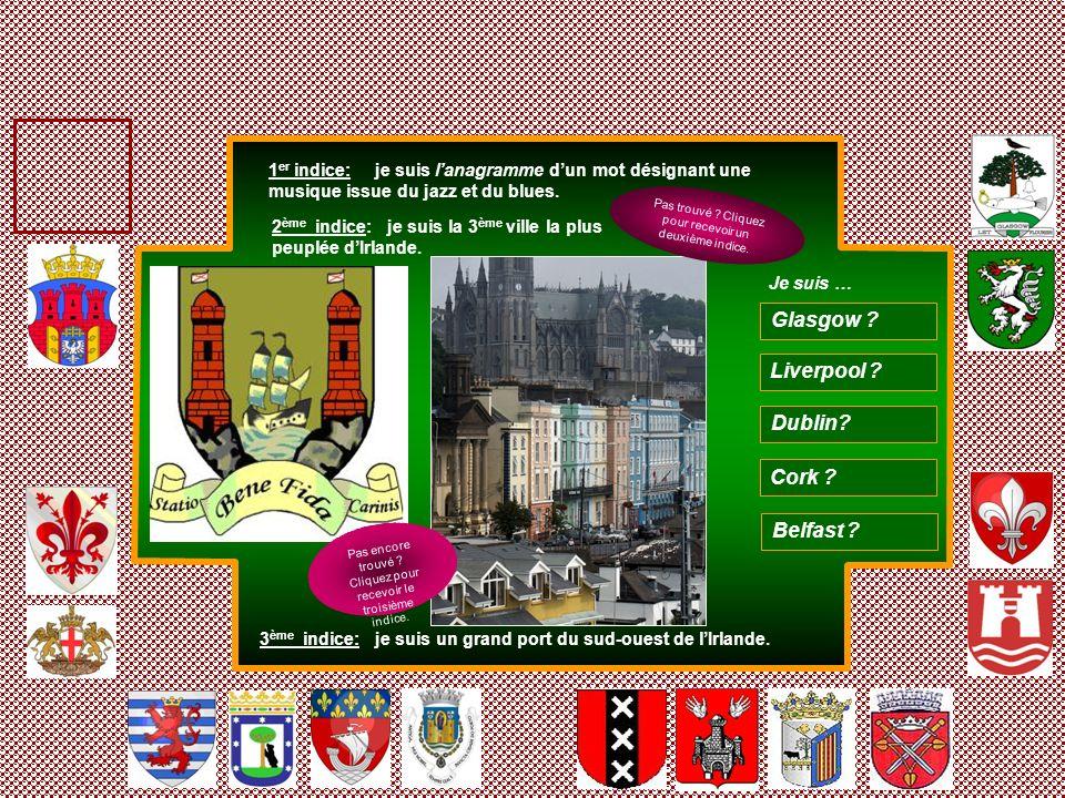 Glasgow Liverpool Dublin Cork Belfast