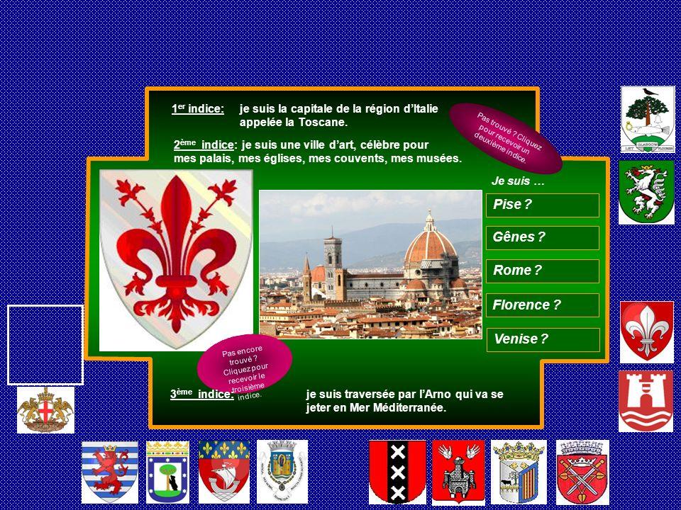 Pise Gênes Rome Florence Venise