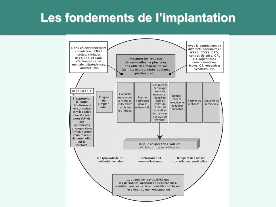 Les fondements de l'implantation