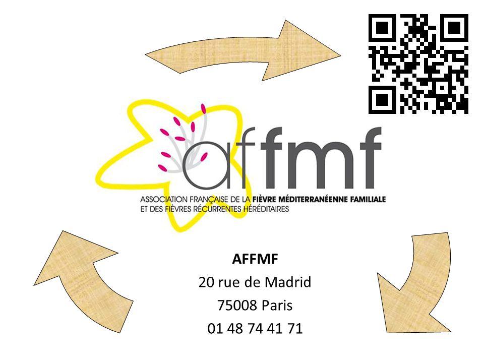 AFFMF 20 rue de Madrid 75008 Paris 01 48 74 41 71