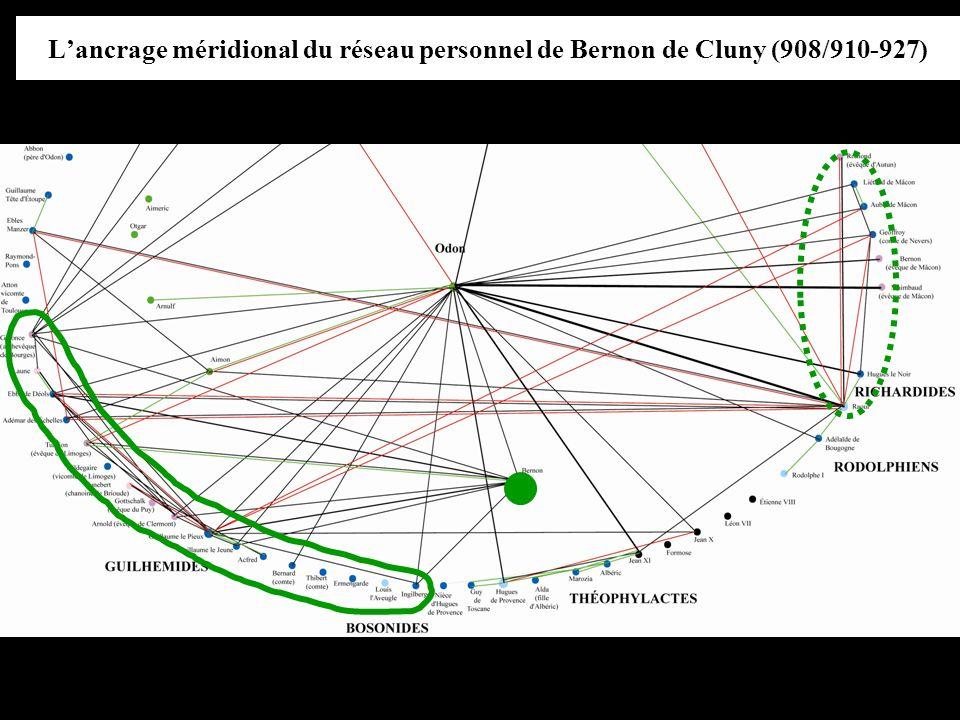 L'ancrage méridional du réseau personnel de Bernon de Cluny (908/910-927)