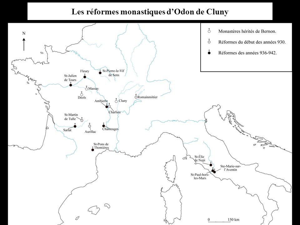 Les réformes monastiques d'Odon de Cluny