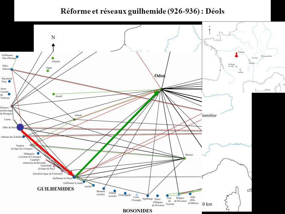 Réforme et réseaux guilhemide (926-936) : Déols
