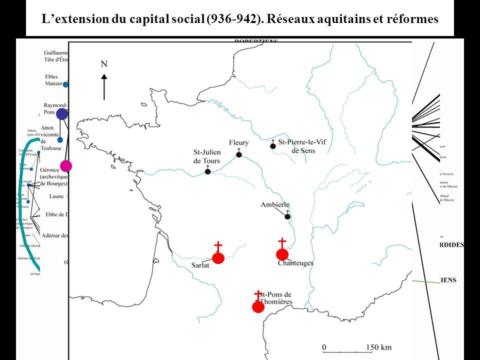 L'extension du capital social (936-942). Réseaux aquitains et réformes