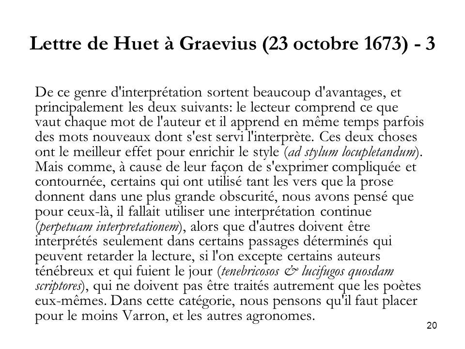 Lettre de Huet à Graevius (23 octobre 1673) - 3