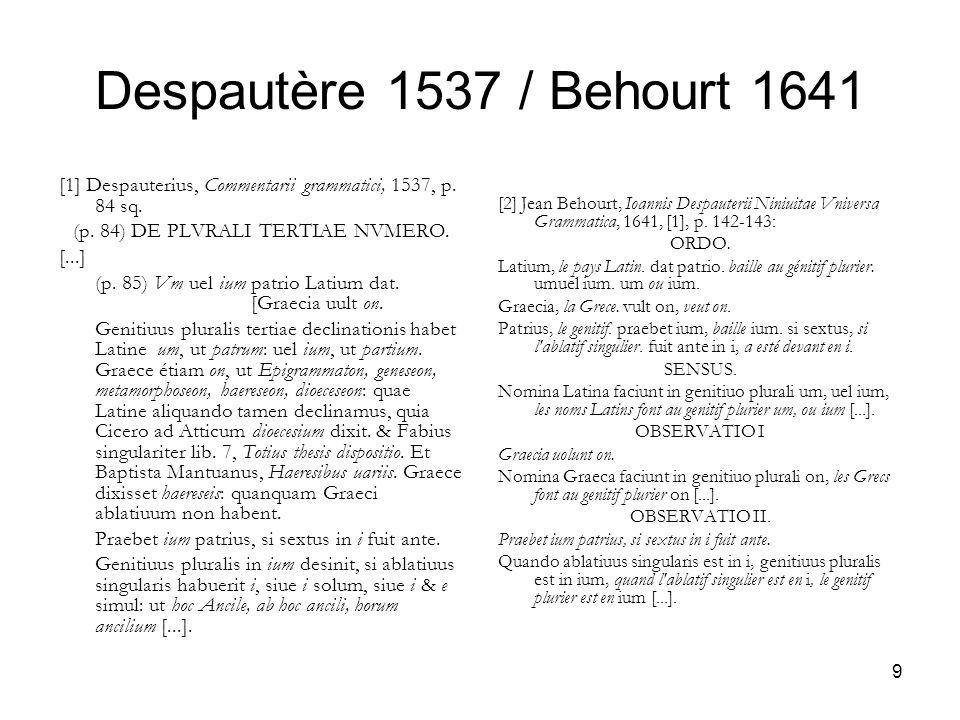 (p. 84) DE PLVRALI TERTIAE NVMERO.