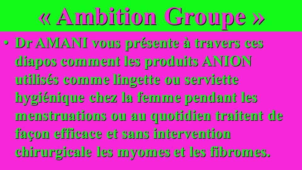 « Ambition Groupe »