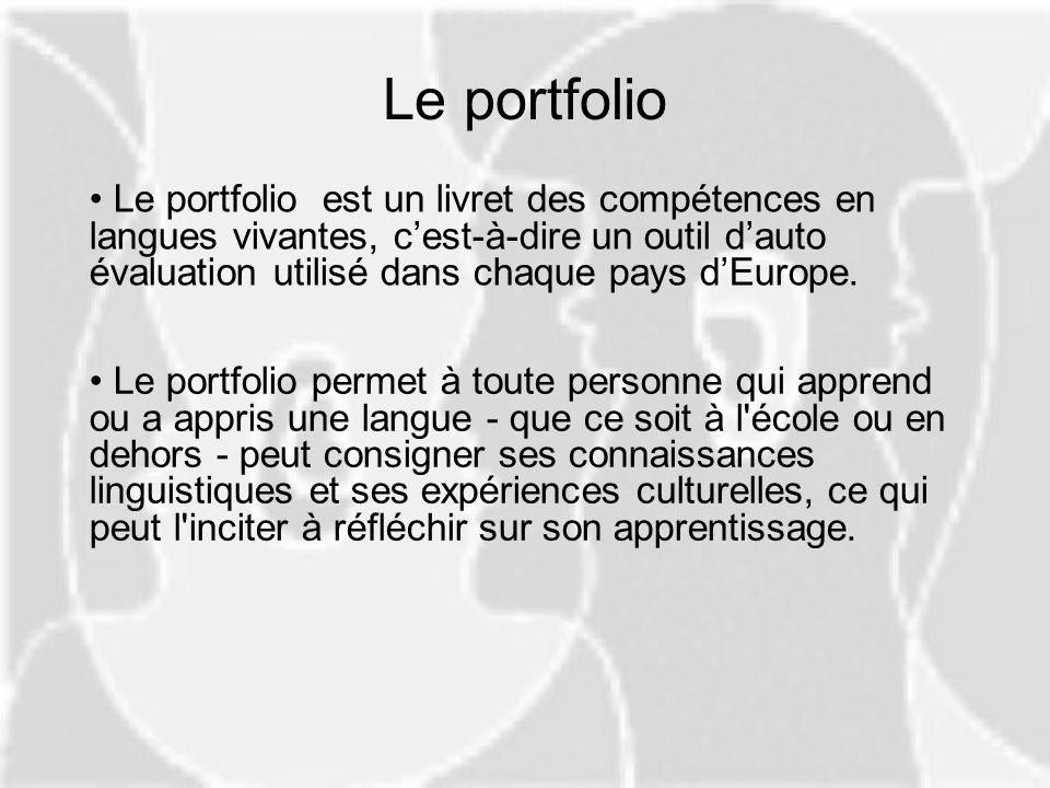 Le portfolio