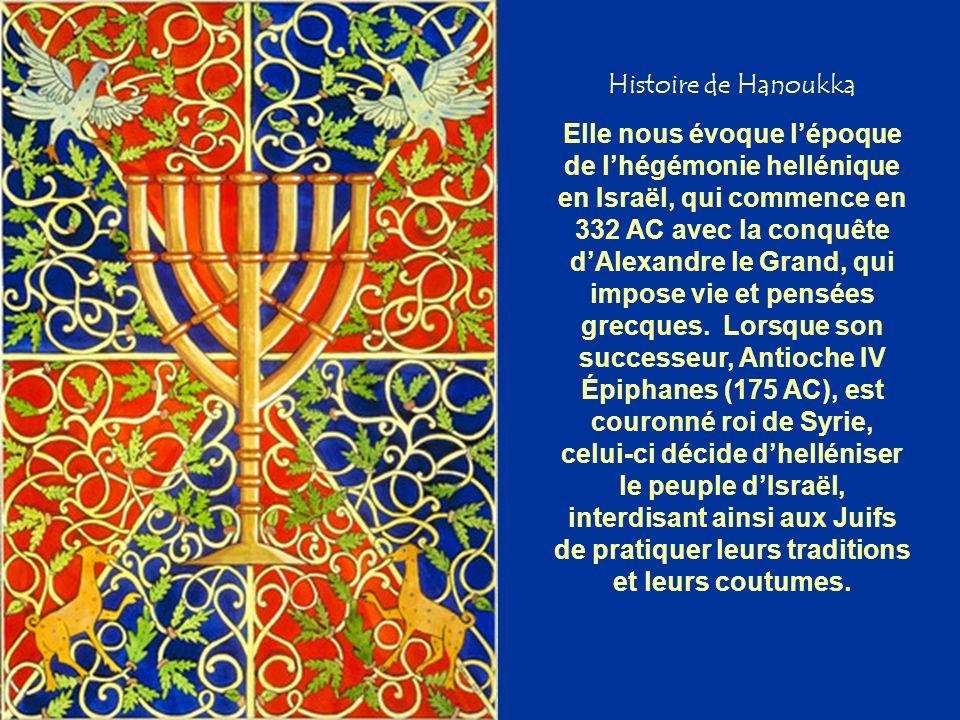 Histoire de Hanoukka