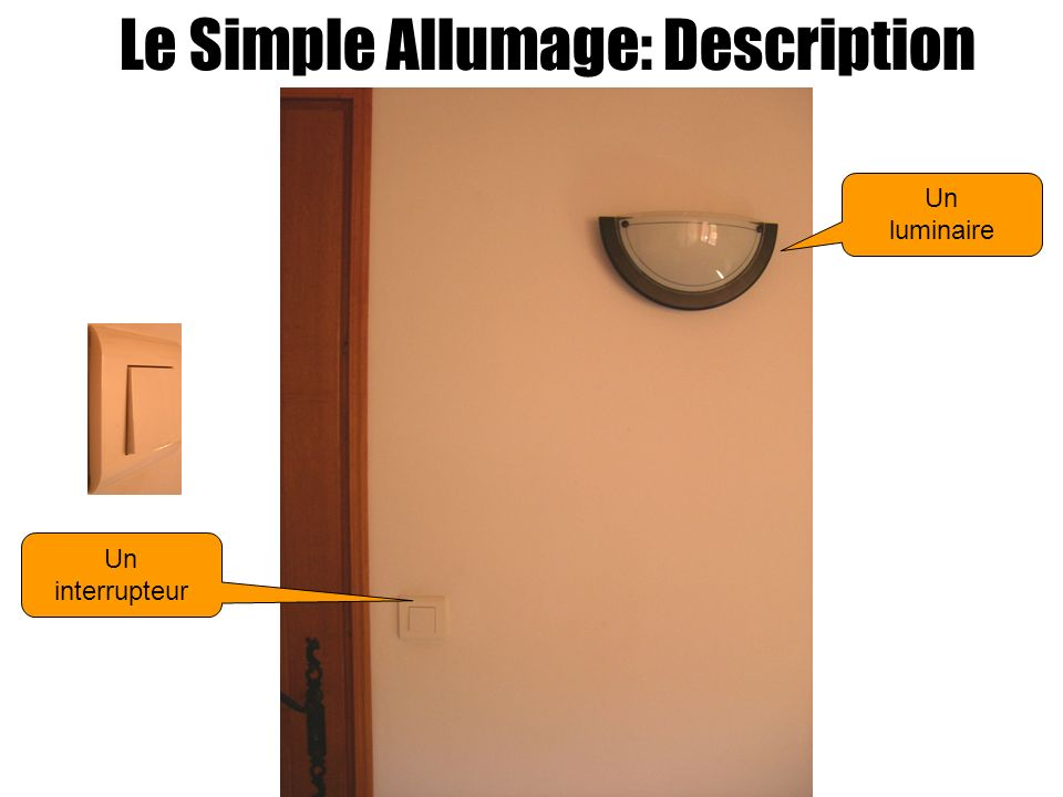 Le Simple Allumage: Description