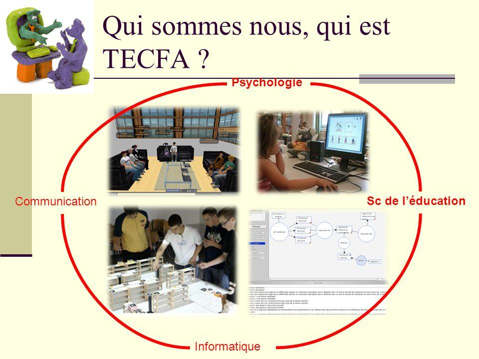 Qui sommes nous, qui est TECFA