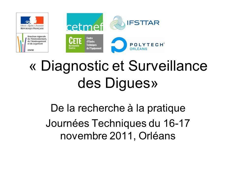 « Diagnostic et Surveillance des Digues»