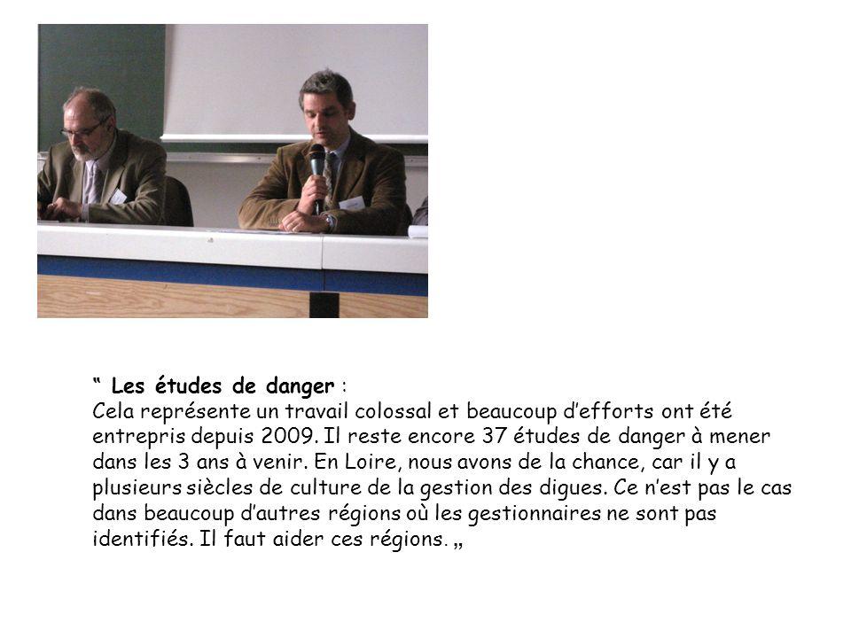 """"""" Les études de danger :"""
