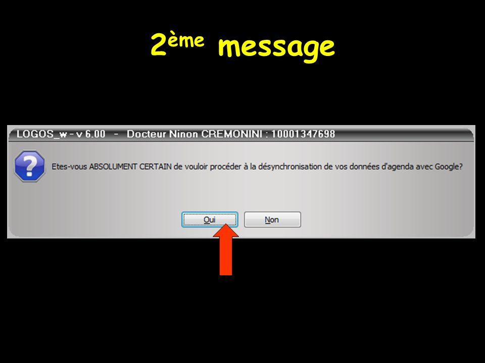 2ème message