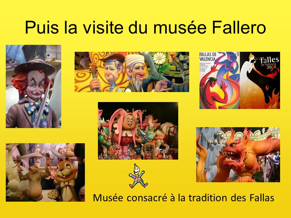 Puis la visite du musée Fallero