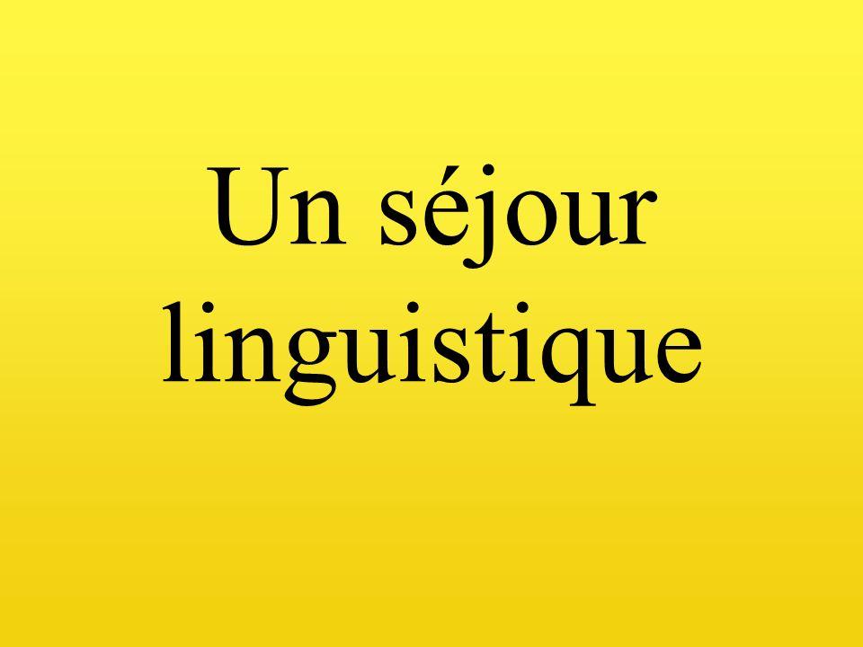 Un séjour linguistique