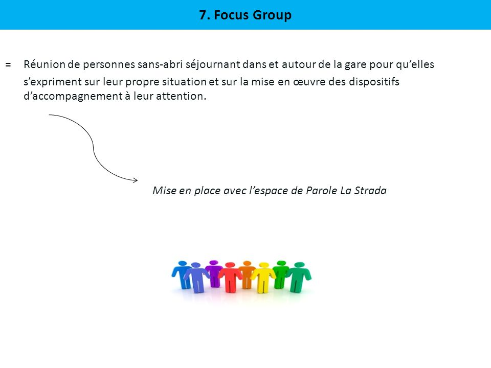7. Focus Group