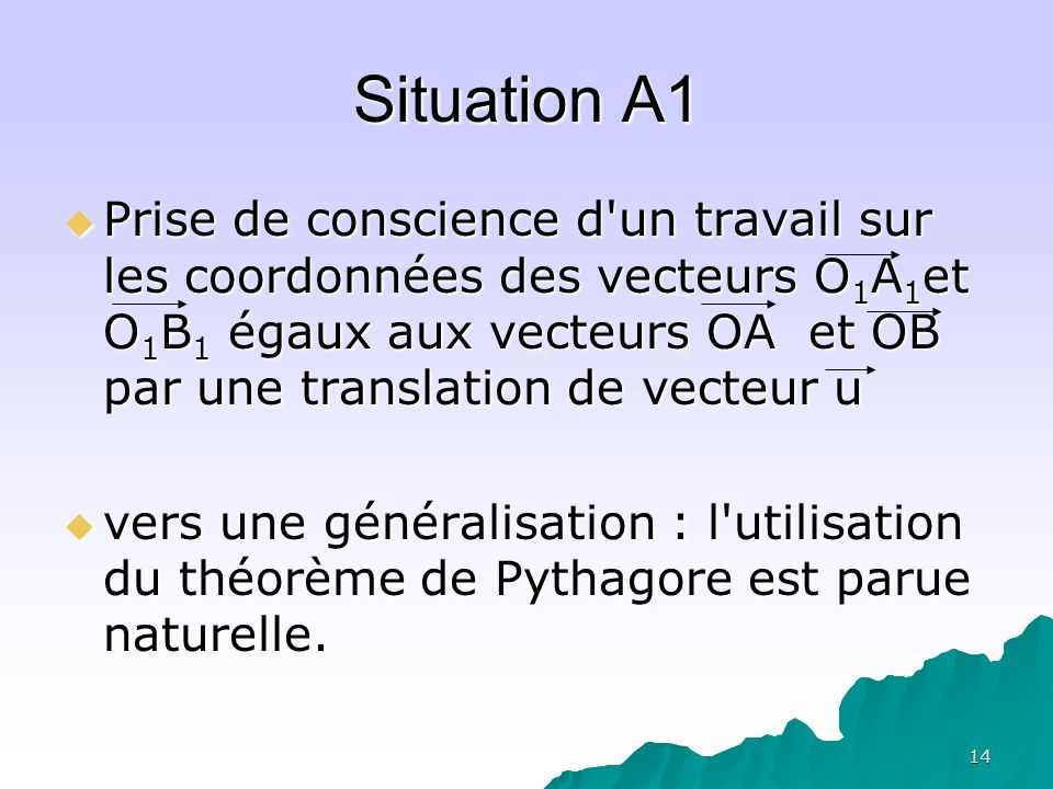 Situation A1
