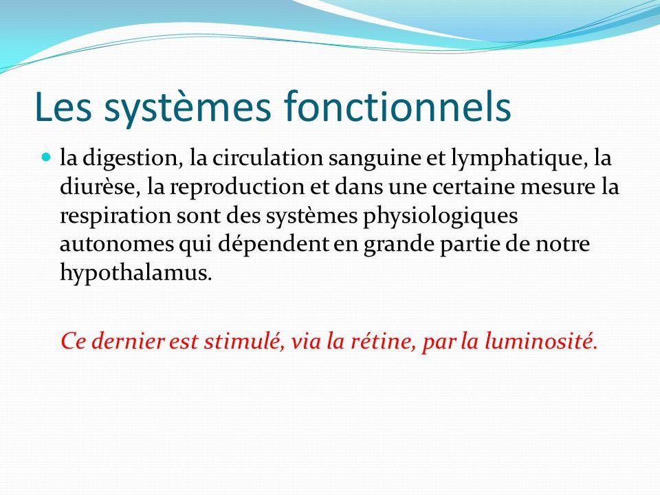 Les systèmes fonctionnels