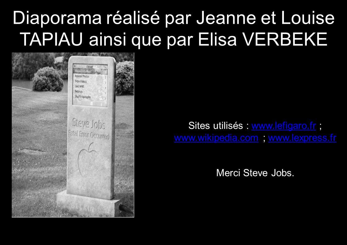 Sites utilisés : www.lefigaro.fr ; www.wikipedia.com ; www.lexpress.fr