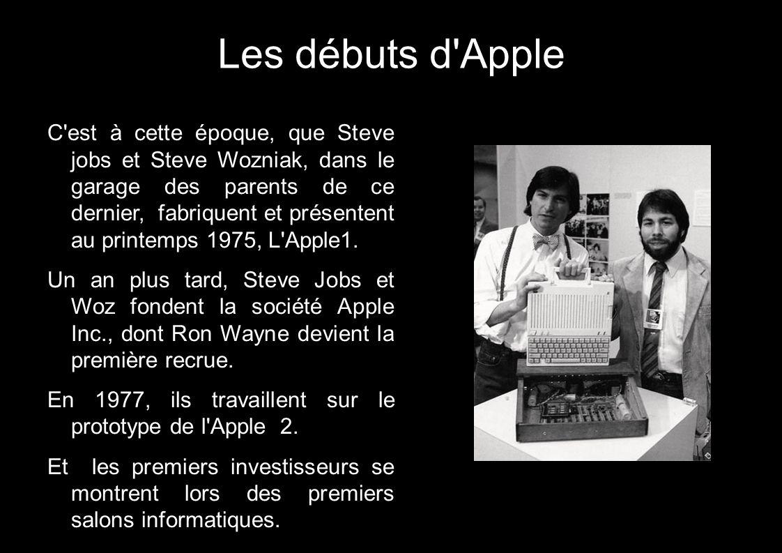 Les débuts d Apple