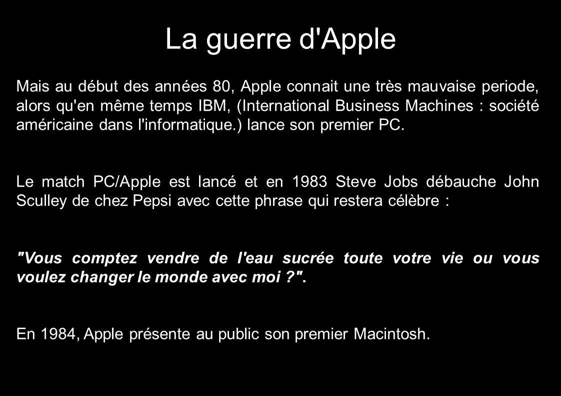 La guerre d Apple