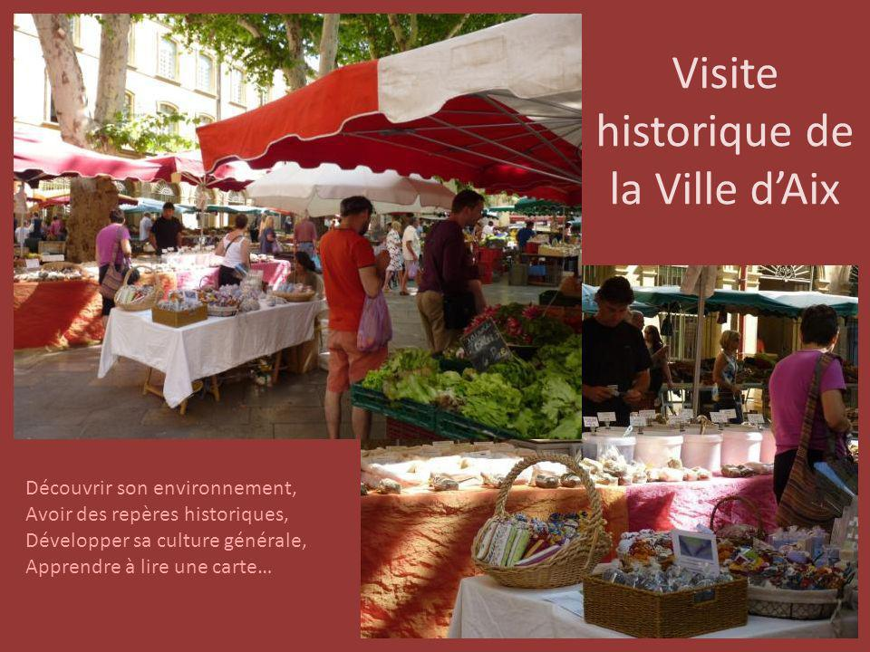 Visite historique de la Ville d'Aix