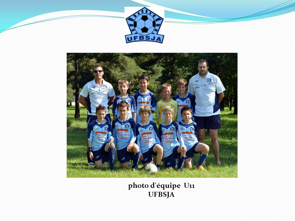 photo d équipe U11 UFBSJA