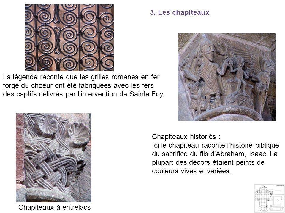 3. Les chapiteaux