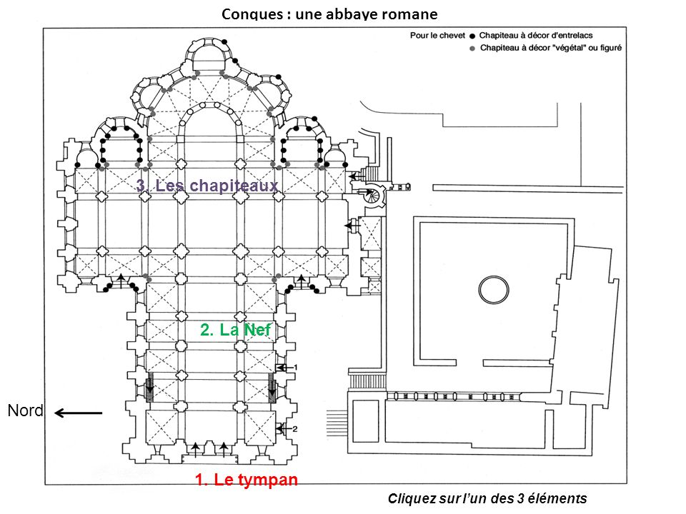 Conques : une abbaye romane