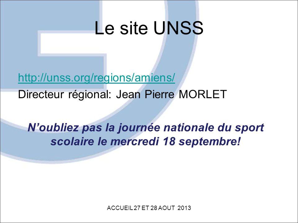 Le site UNSS