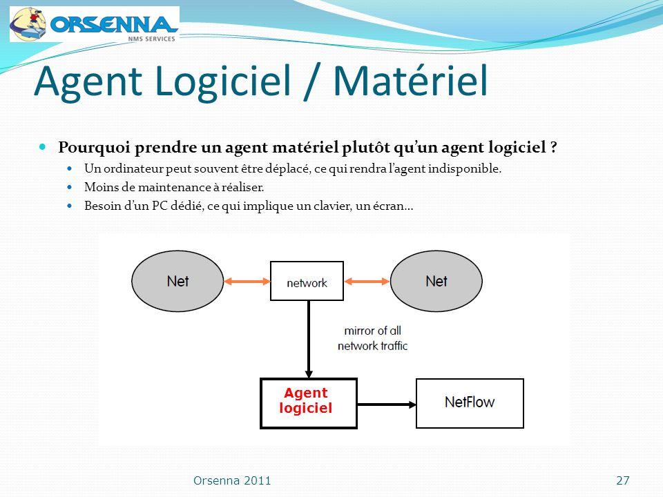 Agent Logiciel / Matériel