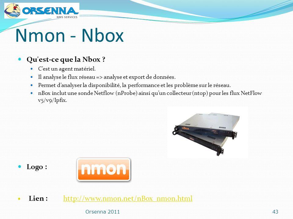 Nmon - Nbox Qu est-ce que la Nbox Logo :