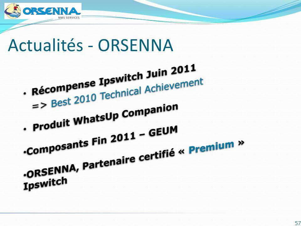 Actualités - ORSENNA Récompense Ipswitch Juin 2011
