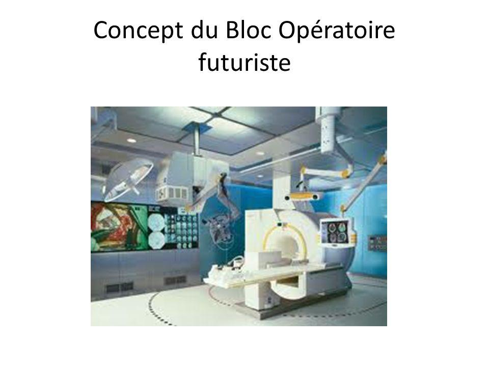 Concept du Bloc Opératoire futuriste