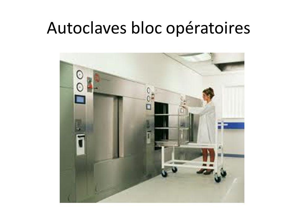 Autoclaves bloc opératoires