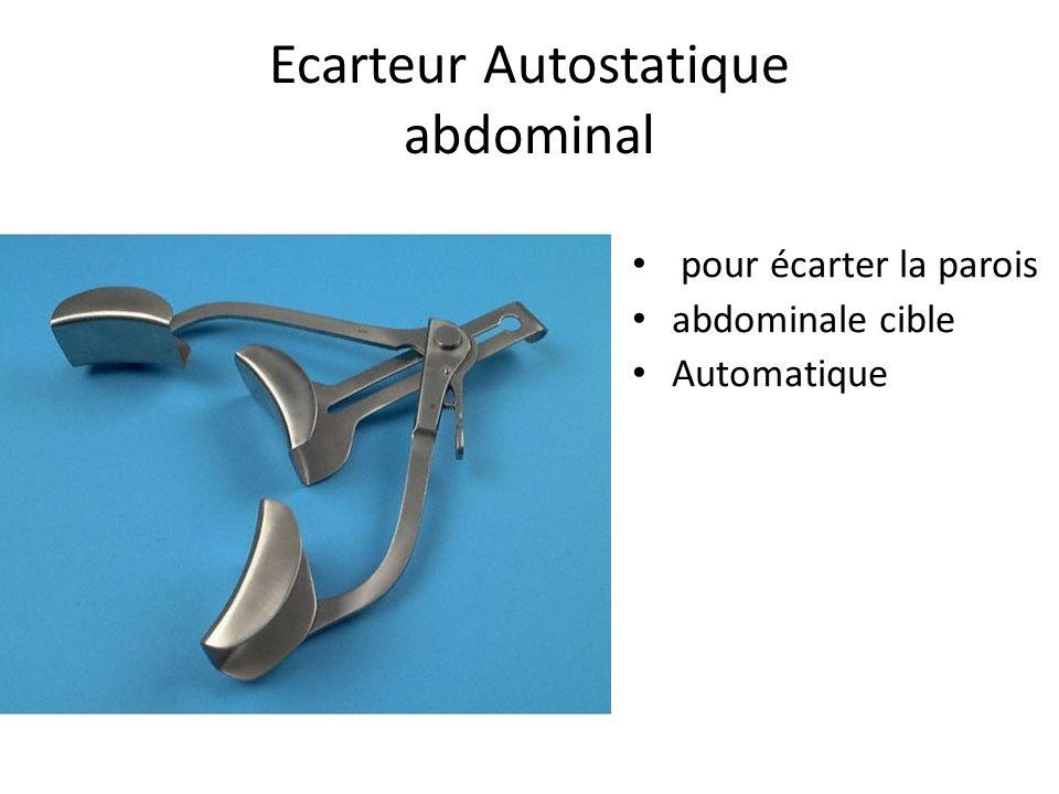 Ecarteur Autostatique abdominal